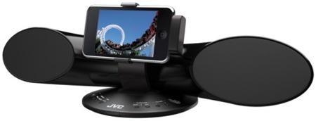 JVC XS-SR3, altavoces para iPod con un diseño curioso