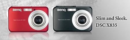 X835, nueva compacta de Benq