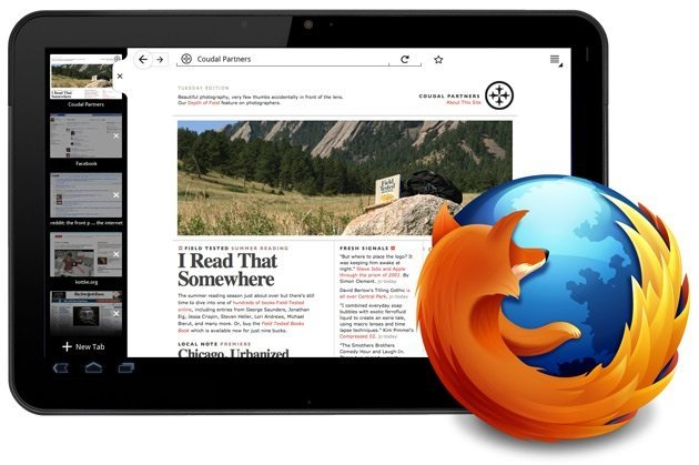 mozilla firefox tablet android google