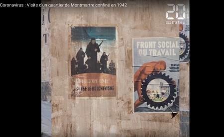 Montmartre París 1942 COVID-19