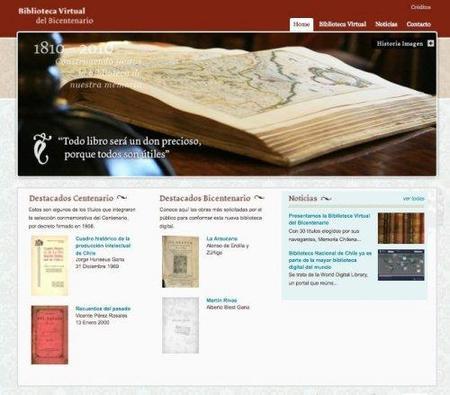 Chile inaugura Biblioteca Digital del Bicentenario