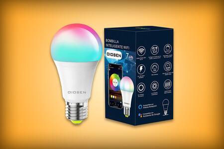 Focos inteligentes de oferta en Amazon México por tan solo 169 pesos: luz RGB y compatibles con Alexa y Google Assistant