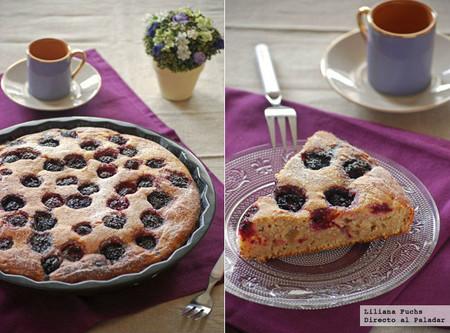 Pastel de moras con buttermilk o suero de leche: dulce sobremesa de finales de verano