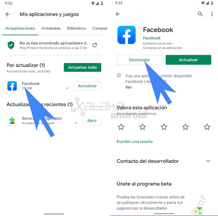 Uninstall From Play Store