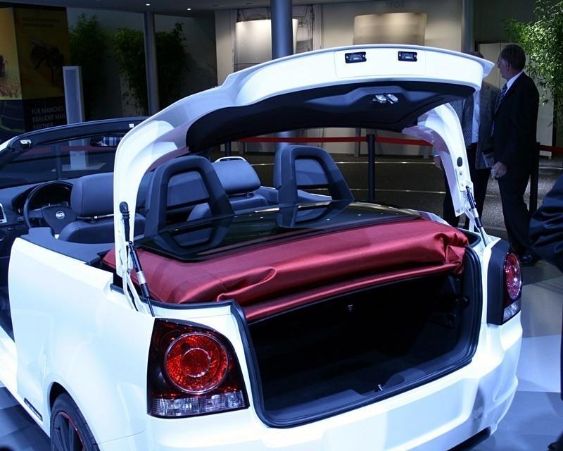 Volkswagen Polo Cabrio Concept por Karmann