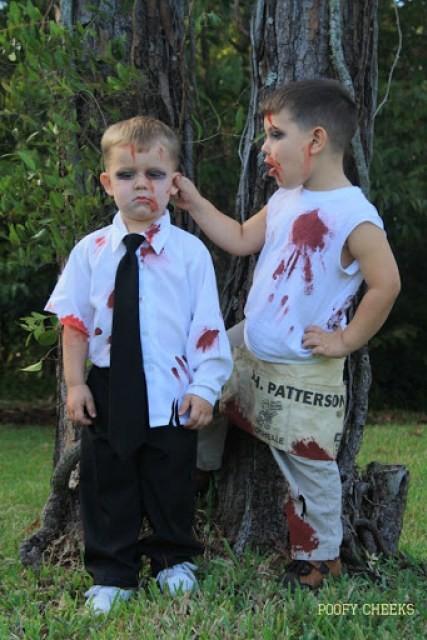 Disfraz Halloween Facil Barato Zombie 1