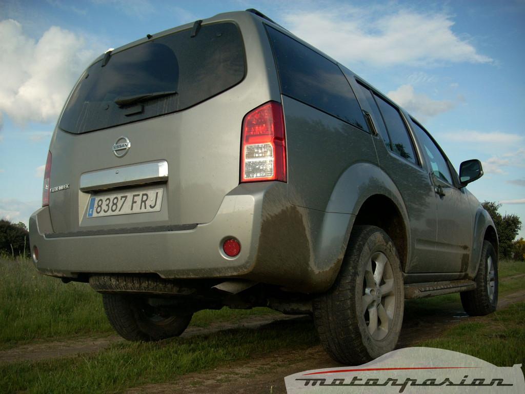 Nissan Pathfinder (prueba)