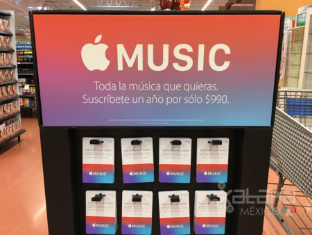 Un año de Apple Music por 990 pesos es como Apple quiere ganar suscriptores en México