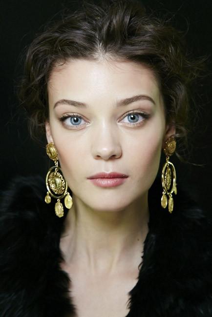 El maquillaje del desfile de Dolce&Gabbana durante la MFW
