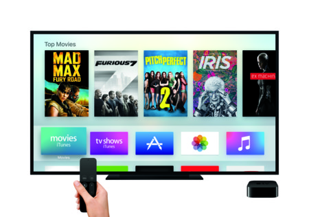 Tv Appletv Remote Hand Mainmenu Movies Print