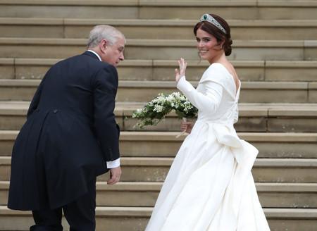 Boda real de la princesa Eugenia de York y Jack Brooksbank: así es el espectacular vestido de la novia