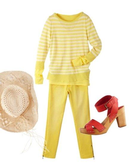 color amarillo la redoute2