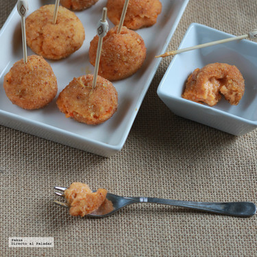 Croquetas de sobrasada, receta ideal para el aperitivo