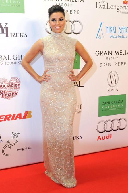 Eva Longoria en la gala Global Gift