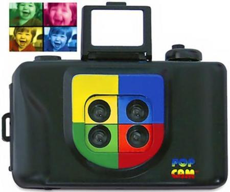 Pop Art Color Camera, toma fotografías en colores