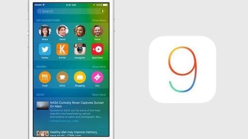 iOS 9, así es el nuevo operativo móvil de Apple: estabilidad, diferenciación en iPad y más