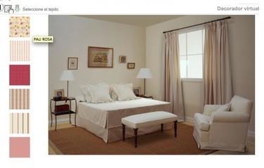 Eligiendo tapicerías con decoradores virtuales