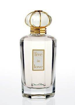 Óscar de la Renta presenta su nuevo perfume, Live in Love