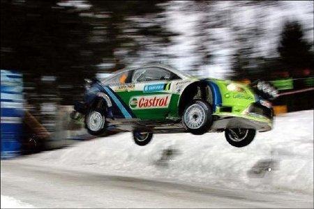 """Premio al salto más largo en el """"Rasante de Colin"""" del Rally de Suecia"""