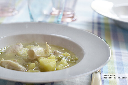 Calamares con patatas, receta con Thermomix