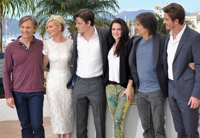 Mortensen, Dunst, Riley, Stewart, Salles y Hedlund en Cannes