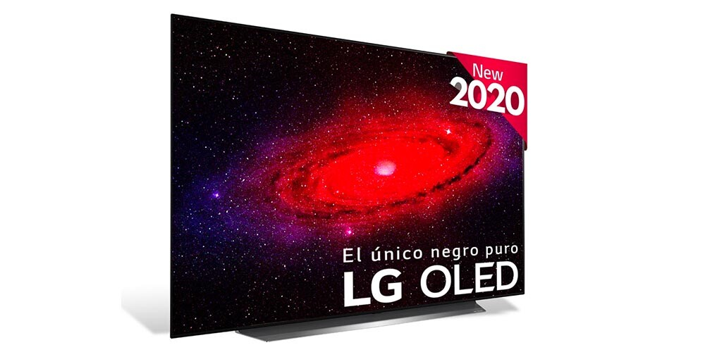 "TV OLED 163,9 cm (65"") LG OLED65CX6LA 4K con Inteligencia Artificial, HDR Dolby Vision IQ y Smart TV"