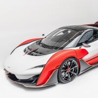 El sugerente McLaren Sabre es la última creación de Woking: 825 CV, sólo 15 unidades para EEUU y ¡351 km/h!