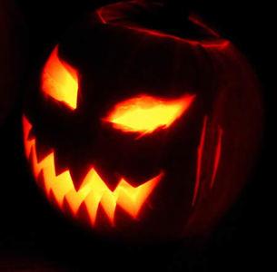 Una calabaza de Halloween