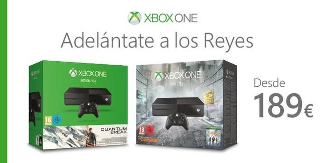 Xbox One Oferta Navidad
