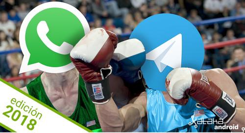 WhatsApp vs Telegram en 2018: ¿cuál es la mejor aplicación de mensajería?