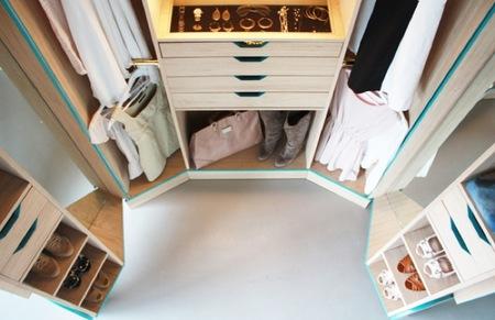 Ventajas e inconvenientes de un walk-in closet
