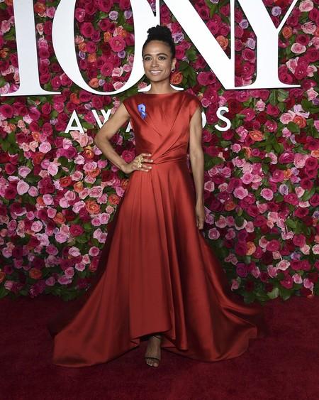 alfombra roja tony awards Lauren Ridloff