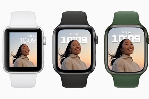 Comparamos el Apple Watch Series 7 con el Apple Watch Series 6, Apple Watch SE y Apple Watch Series 3
