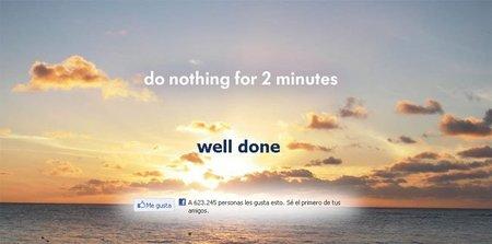 """""""Donothingfor2minutes"""" el sitio web para desestresarse"""