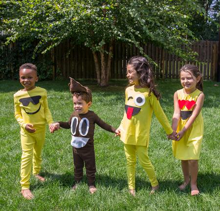 Disfraces Faciles Rapidos Ninos Carnaval Emoji