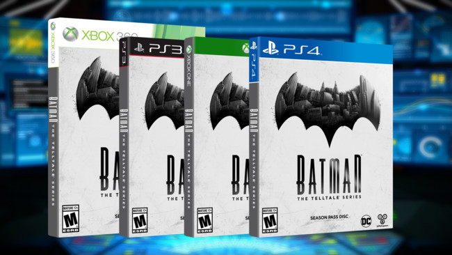Batman The Telltale Series Box
