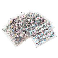 Surtido de 50 hojas de pegatinas para las uñas por sólo 2,12 euros y con envío gratuito en Ebay