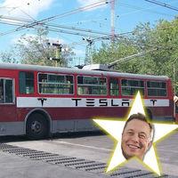Elon Musk está a tres inventos de inventar el trolebús