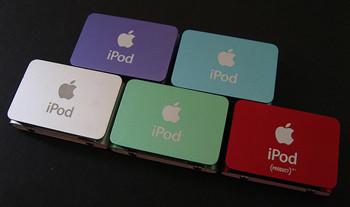 Primeras galerías de imagenes de los nuevos iPod