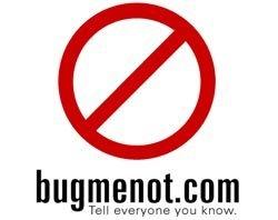Bugmenot: no más registros en páginas web