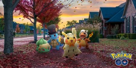 Pokémon GO celebrará un año más Halloween con el doble de caramelos, más prendas y nuevos Pokémon disfrazados