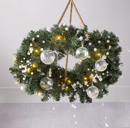 Coronas Navidad Leroy Merlin