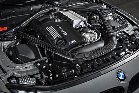 BMW M4 CS detalle motor