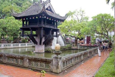 Vietnam: La pagoda de un solo pilar de Hanoi