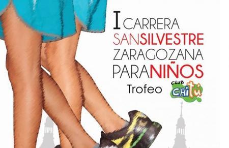 Acabar el año con una carrera muy divertida: la primera San Silvestre para niños en Zaragoza