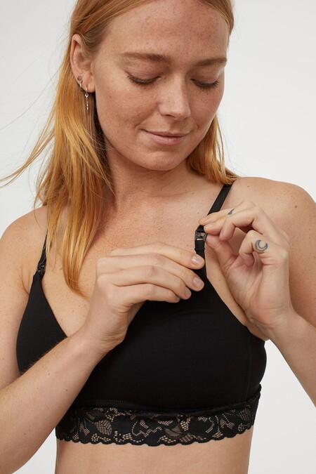 H&M tiene los sujetadores de lactancia más bonitos: desde los más sencillos hasta los de encaje más sensuales