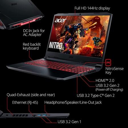 Laptop Acer con RTX 3050 con descuento en Amazon México
