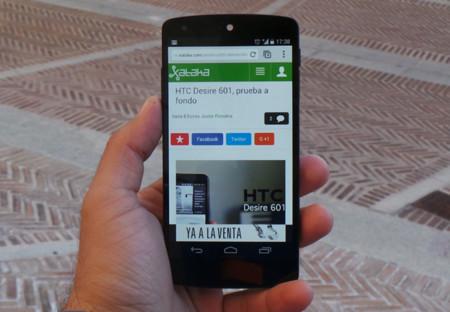 Nexus 5 Xataka