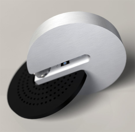 Quackie, concepto diferente de unidad óptica externa
