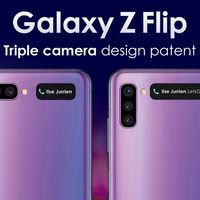 El posible diseño del próximo Samsung Galaxy Z Flip revelado en unas patentes